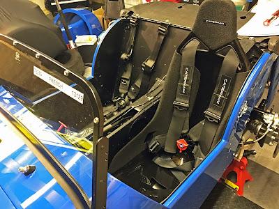 Tillet passenger seat fitted