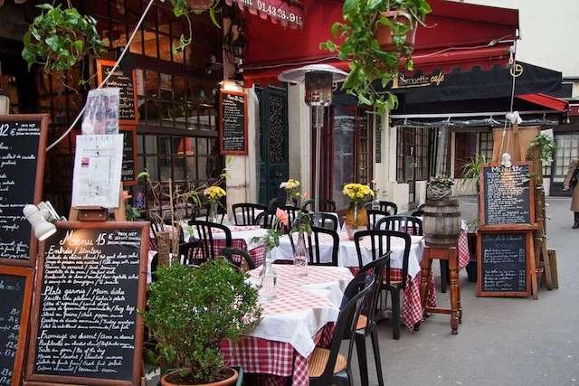 Authentic Cafes In Paris