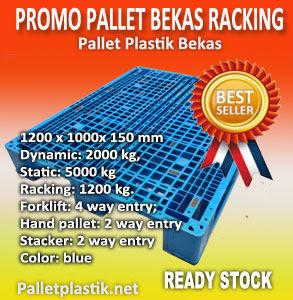 promo pallet plastik bekas racking
