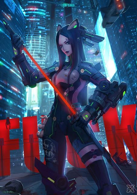 Cyberpunk-Warrior-Wallpaper-4K-Download