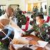 Korem 032 lakukan vaksin Tahap I Bagi Prajurit dan PNS