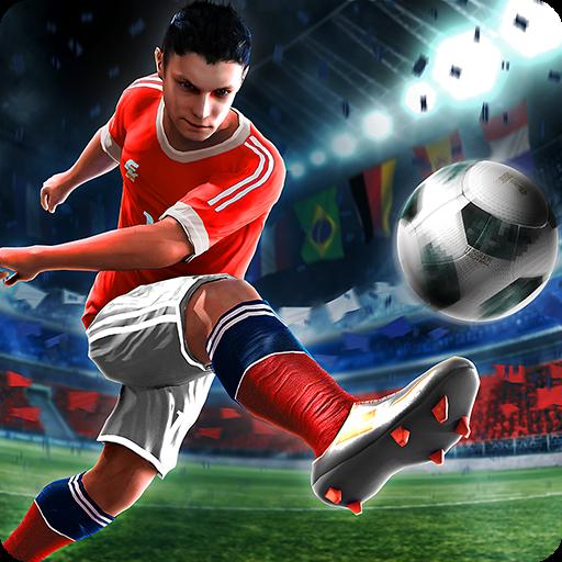 تحميل لعبة Final kick 2018: Online football v8.0.8 مهكرة وكاملة للاندرويد كلشي غير محدود