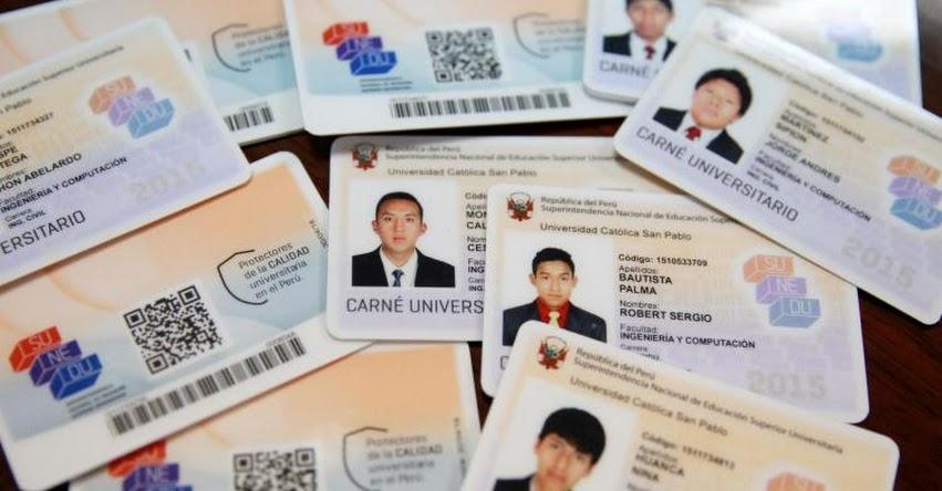 MINEDU: Carnés de alumnos de institutos de educación superior son válidos hasta el 31 de octubre - www.minedu.gob.pe