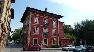 Casa en la que se alojó Alfonso XII en Comillas.