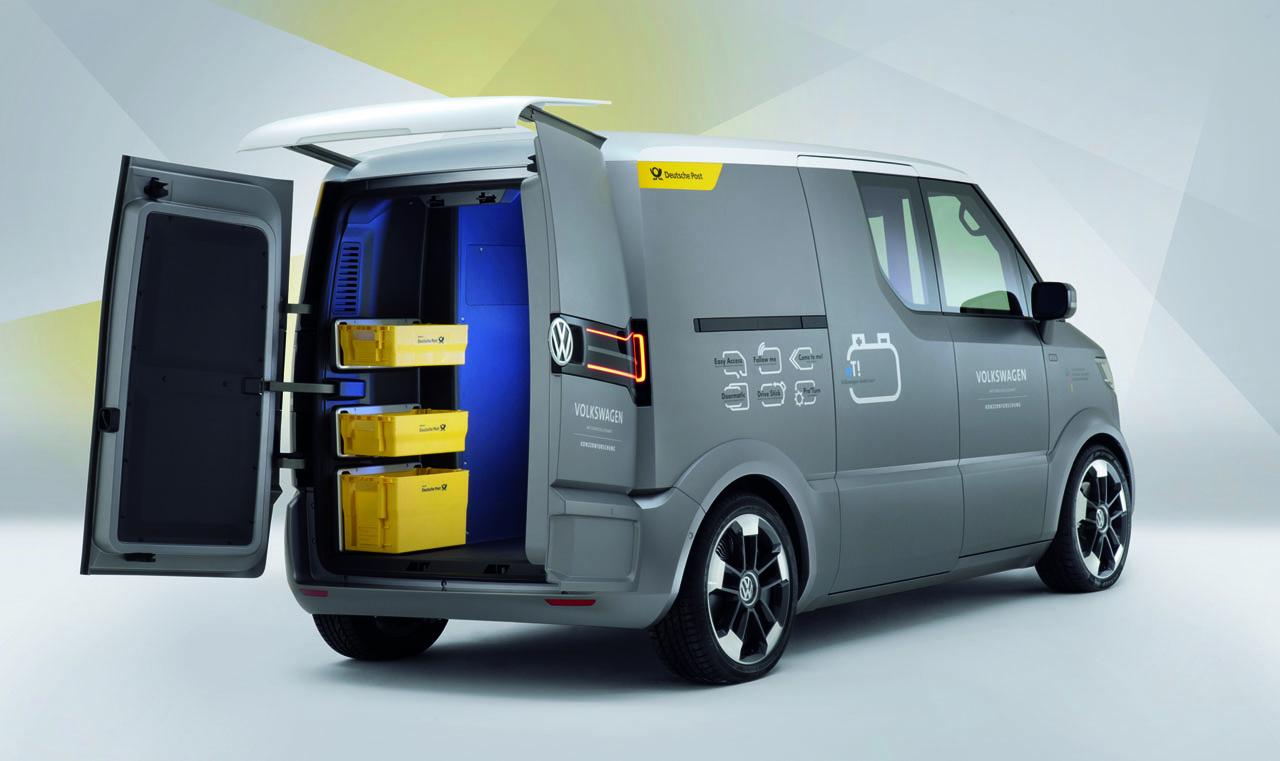 volkswagen et electric delivery van cars planet. Black Bedroom Furniture Sets. Home Design Ideas