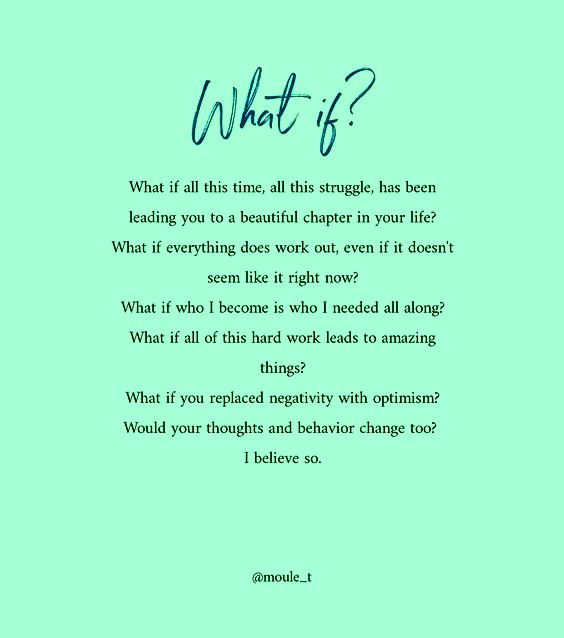 what if everything you're going through has a purpose?