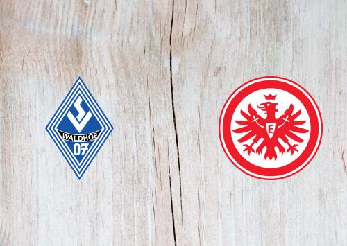 Waldhof Mannheim vs Eintracht Frankfurt -Highlights 11 August 2019