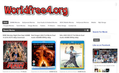 Worldfree4u - Download All Quality And All Size Free Dual Audio 300Mb movie