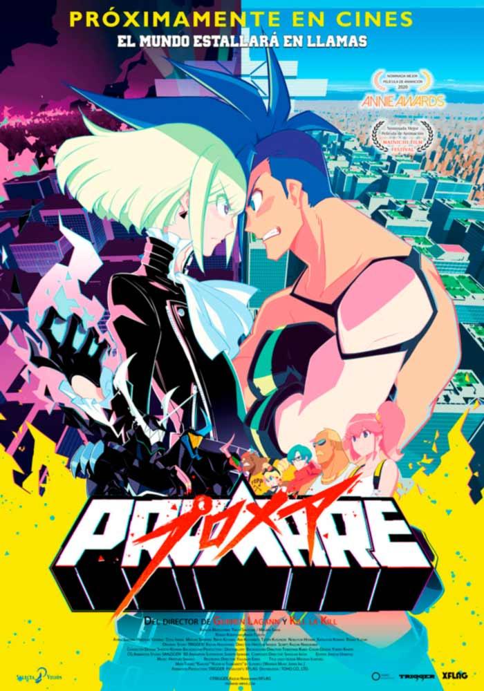 Promare anime film - Selecta Visión - poster