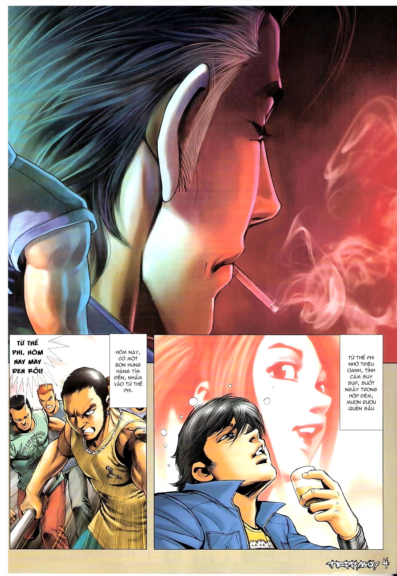 Người Trong Giang Hồ - Chapter 1301: Họ gì tên gì 2 - Pic 2