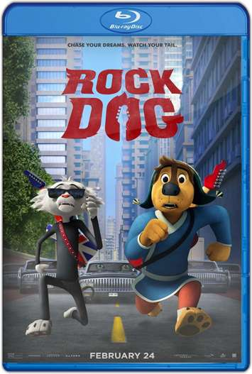 Rock Dog: el perro rockero (2016) HD 1080p y 720p Latino