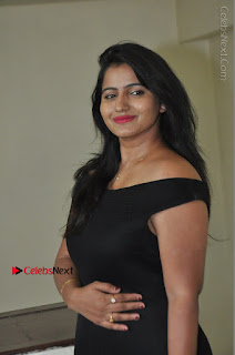 Telugu Actress Swathi Reddy Latest Stills in Black Gown  0033.JPG