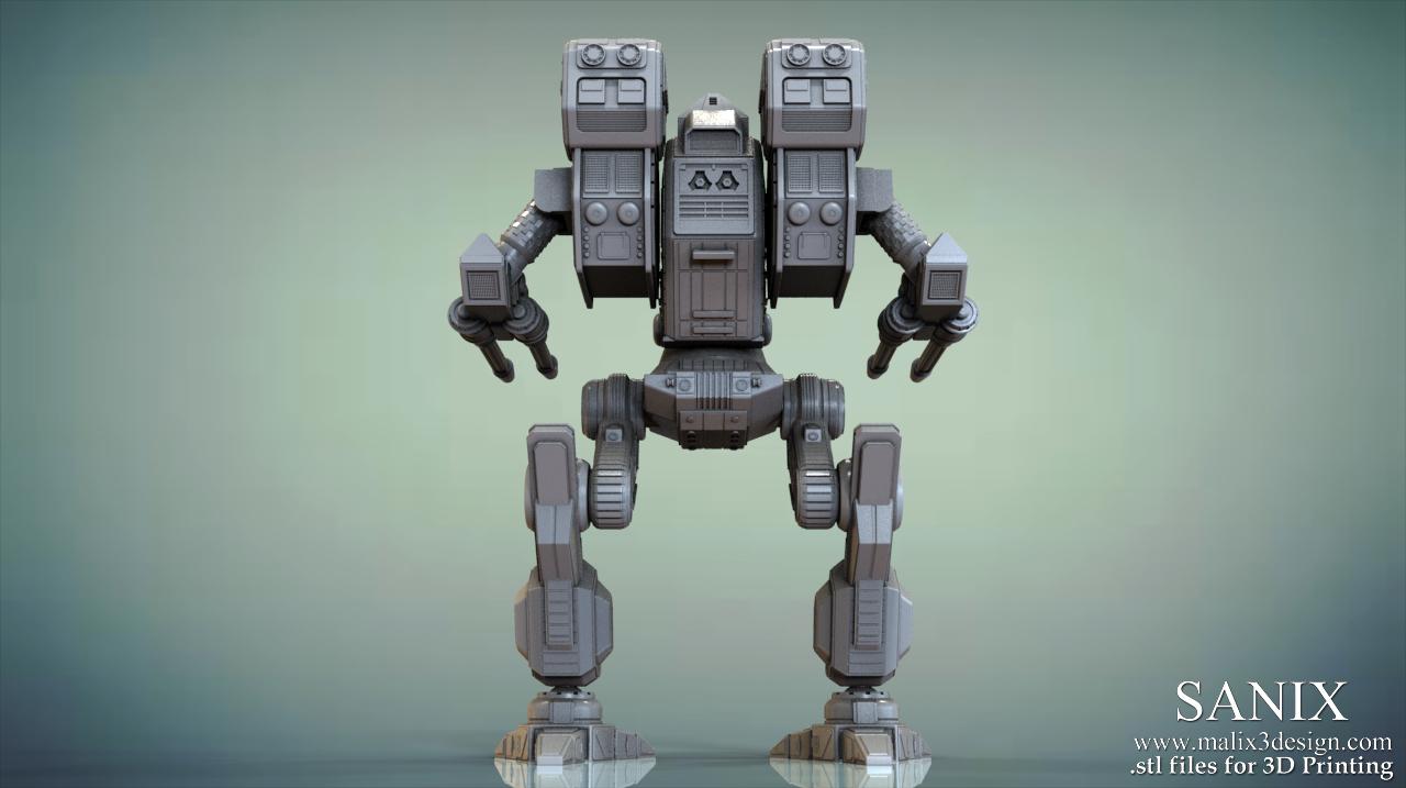 Fresh MAD DOG ( Vulture) Battletech Classic / 3D Printable Model - www  QU02