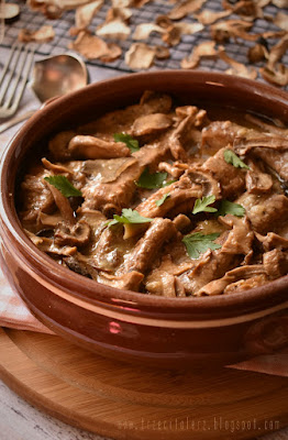 Żeberka z borowikami – kuchnia podkarpacka