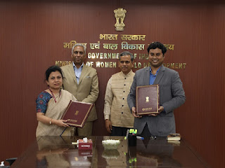Ministry of WCD signed MoU with Invest India