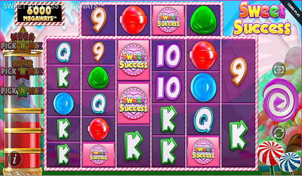 Main Gratis Slot Indonesia - Sweet Success Megaways (Blueprint Gaming)