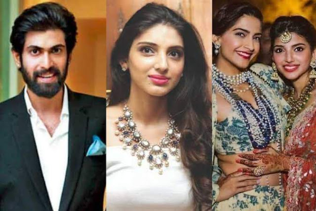 miheeka bajaj and rana daggubati engagement