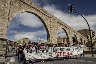 El movimiento estudiantil prepara movilizaciones contra la Lomce y el 3+2