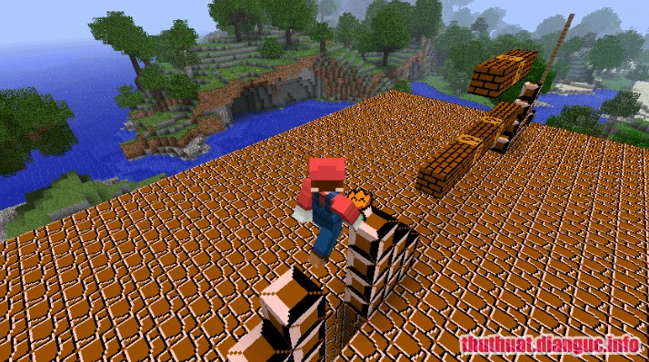 Download Game Super Mario Mod, game Minecraft, game Minecraft mod Mario, Super Mario Mod, Super Mario Mod free download