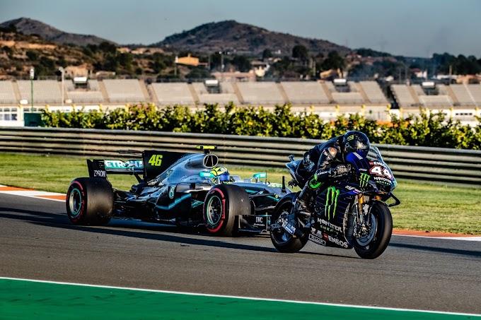 Hamilton i Rossi zamienili się maszynami