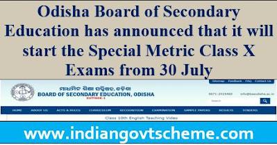 Odisha Board of Secondary Education