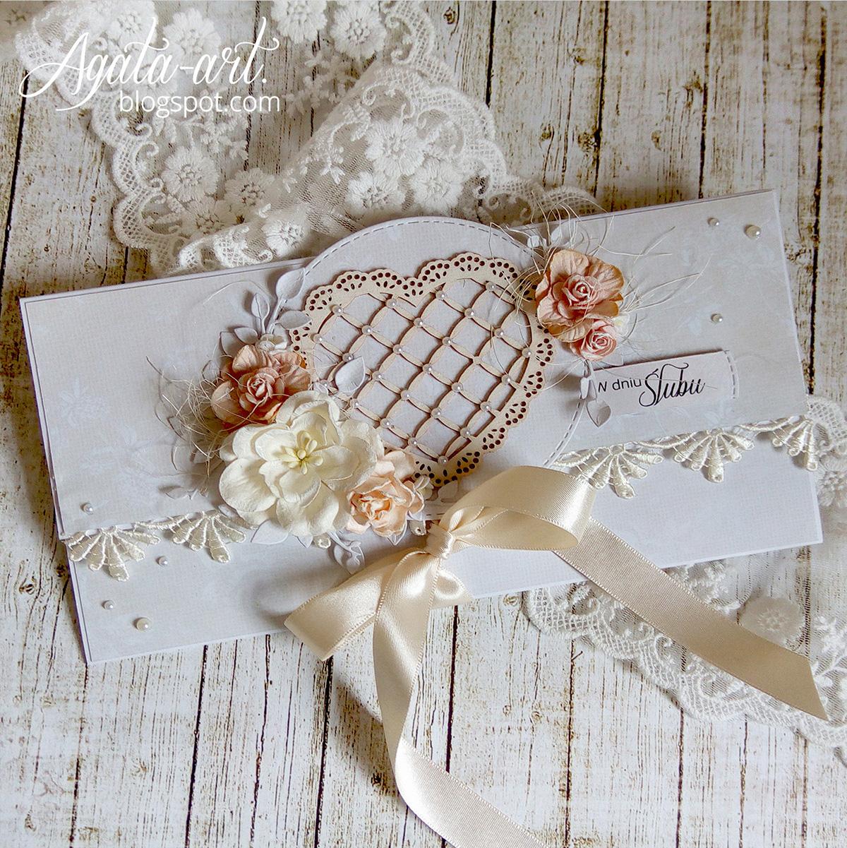 Kopertówka na ślub / Envelope card
