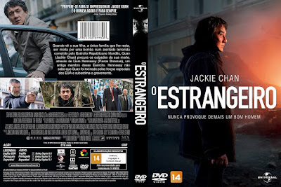 Filme O Estrangeiro (The Foreigner) DVD Capa