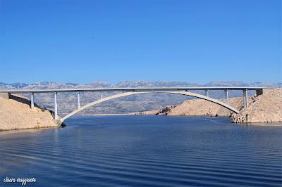 Ponte Paski Most isola di Pag