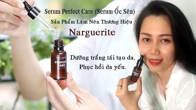 serum ốc sên perfect care làm nên thương hiệu narguerite