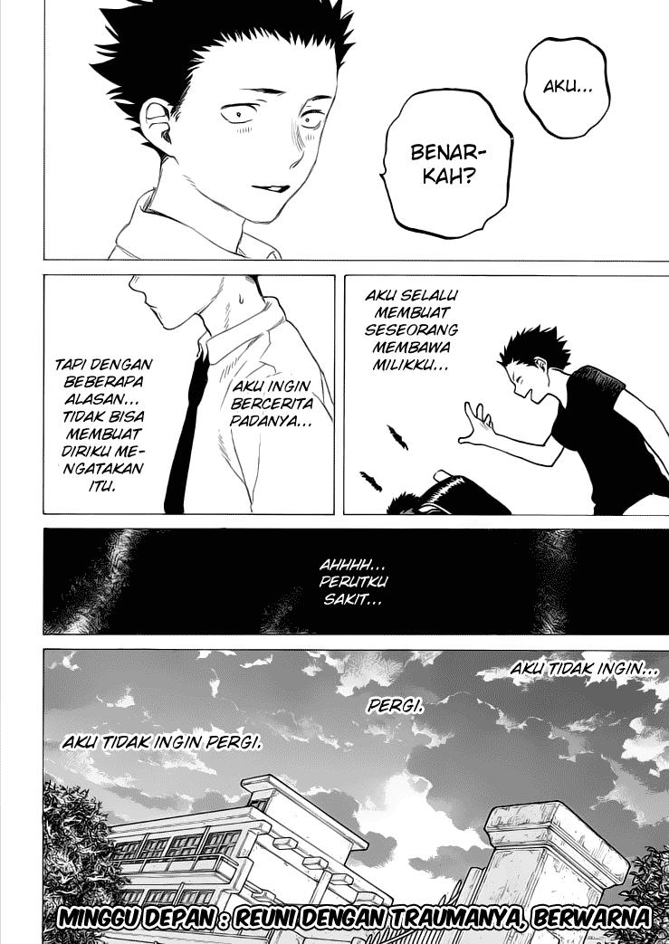 Koe no Katachi Chapter 34-21