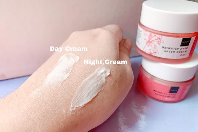 tekstur scarlett brightly ever after cream