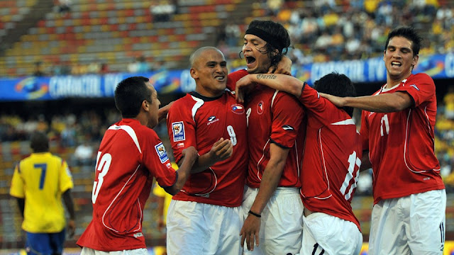 Colombia y Chile en Clasificatorias a Sudáfrica 2010, 10 de octubre de 2009