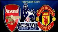موعد مبارة ارسنال ومانشستر يونايتد بالدوري الانجليزي وتشكيل وترتيب الفريقين