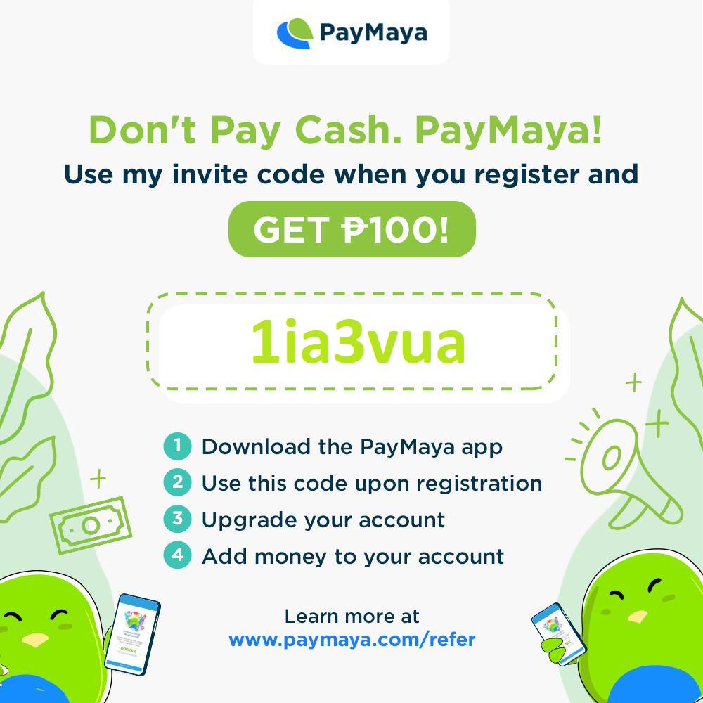 paymaya referral bonus