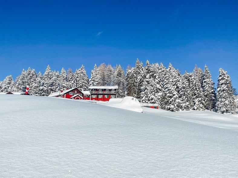 Sulla neve ai Piani di Artavaggio