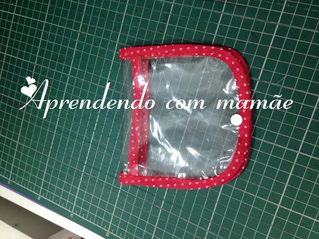 porta máscara, plástico cristal, máscata coronavírus, botão ritas, coronavírus, porta máscara coronavírus