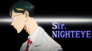 ヒロアカ アニメ | サー・ナイトアイ Sir Nighteye | My Hero Academia | Hello Anime !