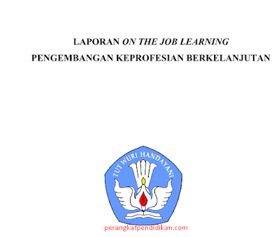 Download Contoh Laporan On The Job Learning (OJL) SIM PKB SMP
