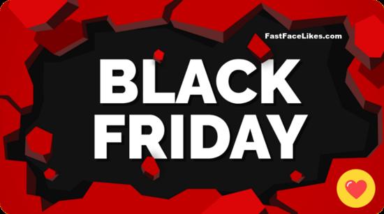 Black Friday 2019 FastFaceLikes Free Facebook Video Views!