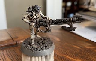 Necron Grimdark Speed Painting Games Workshop SquadPainter Tutorial
