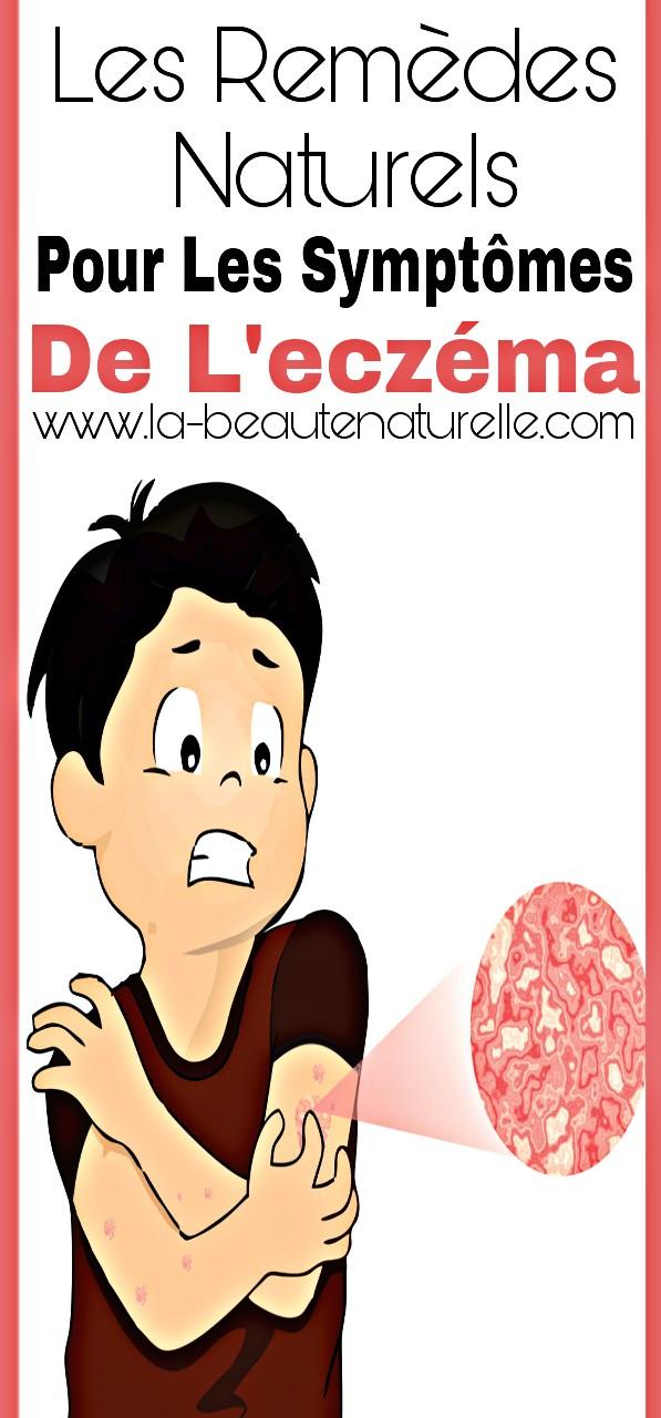Les remèdes naturels pour les symptômes de l'eczéma