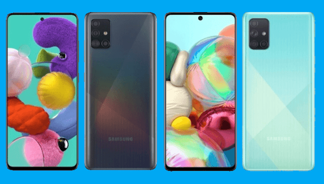 Samsung Galaxy A71 and A51 now official