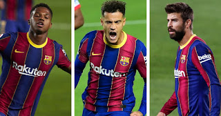 Three players who could be very important for Barcelona this October apart from Messi