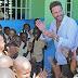 Gerard Butler estuvo en Haití días antes de su hospitalización en RD
