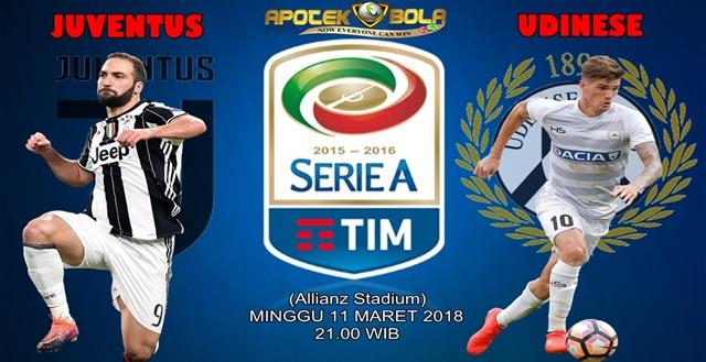 Prediksi Juventus vs Udinese 11 Maret 2018