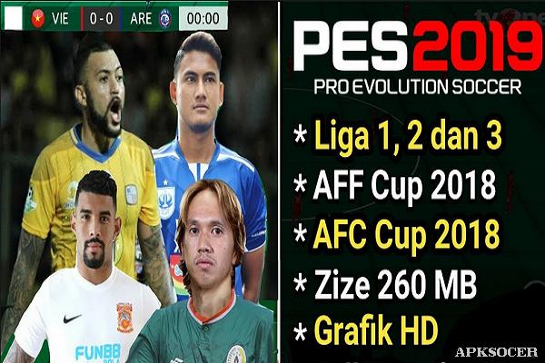 ✨ Pes 2019 apk mod liga indonesia | BARU!!! GAME FTS MOD