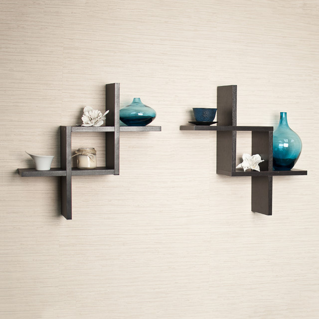 Fancy Criss Cross Shelves