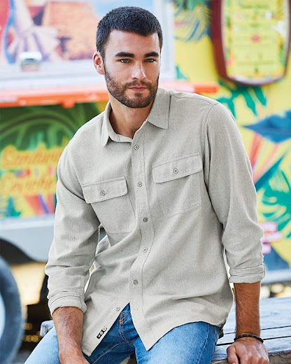 Best Men's Solid Flannel Shirts