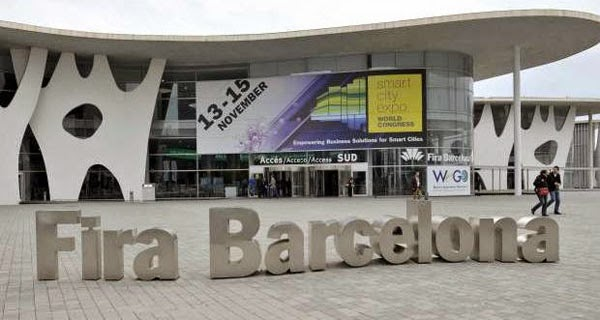 El Moving Liquid Galaxy 2 en la feria congreso Smart City World Expo de Barcelona