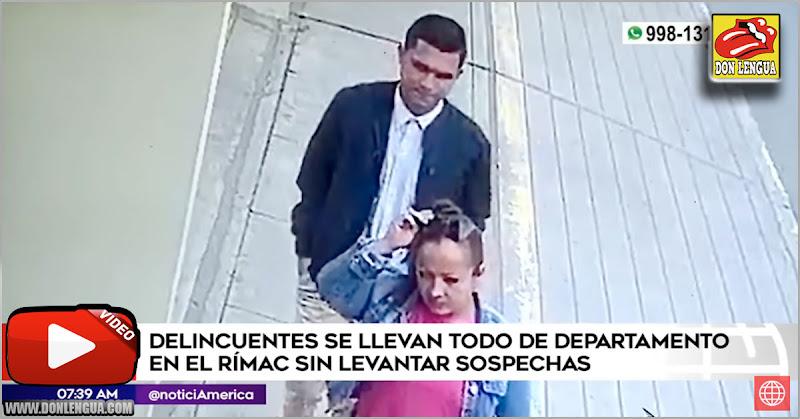 Delincuentes venezolanos se robaron hasta el rollo de papel toilet de un apartamento de Perú